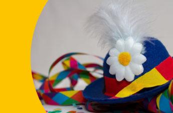 Faschingsfeier im Kiga mit Kromsakrakeldikrö