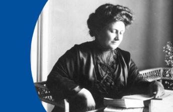 Maria Montessori (im Jahr 1913)
