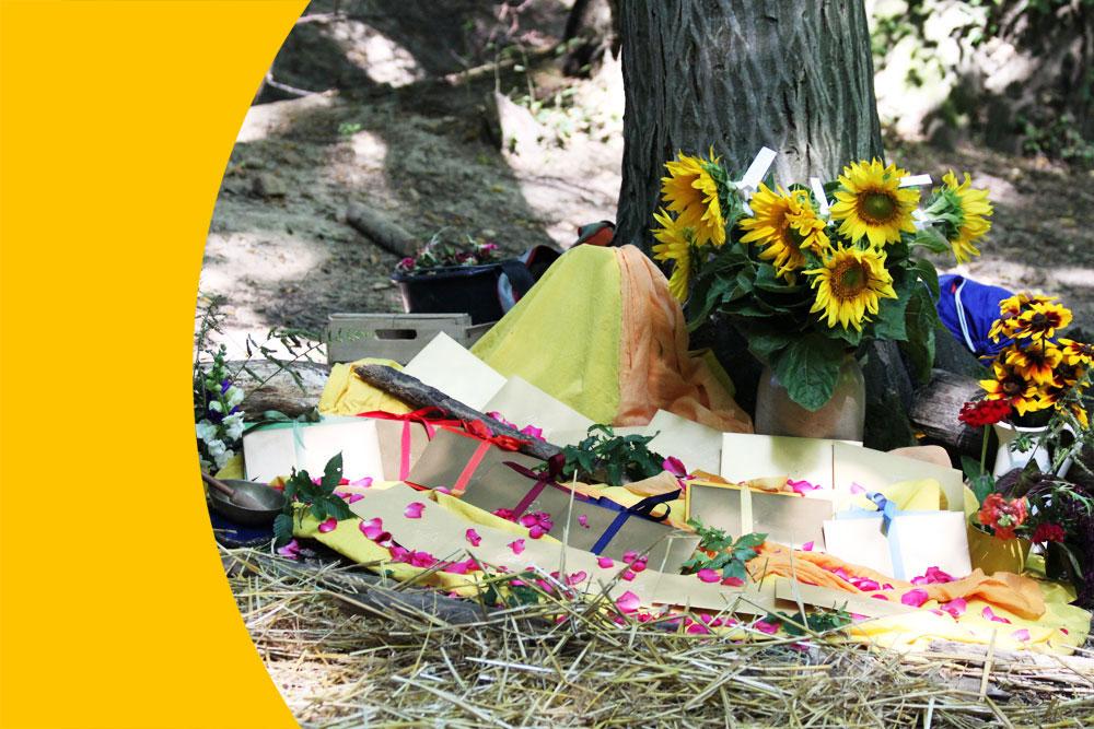 Das Abschieds-Sommerfest des Kindergartens