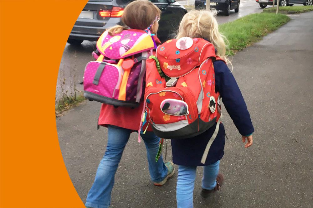 Eigenständiger Schulweg an die FAS von Anfang an
