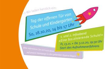 Herbstprogramm der Freien Aktiven Schule Stuttgart 2020